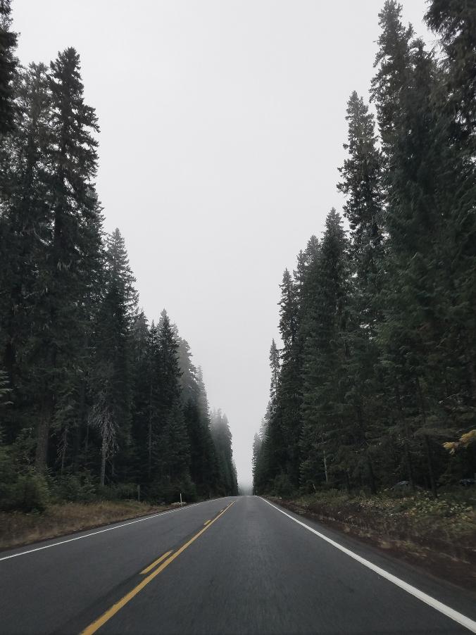 Bend roadway
